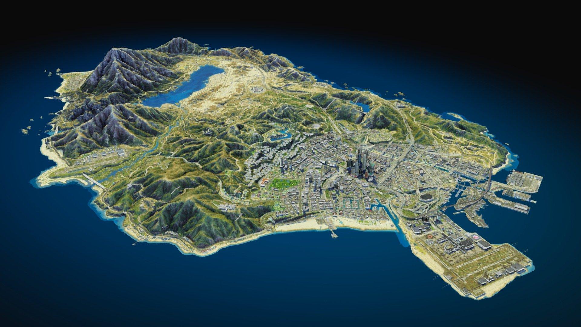 Erangel Mini Map