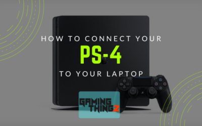 How to connect your PS-4 To your Laptop