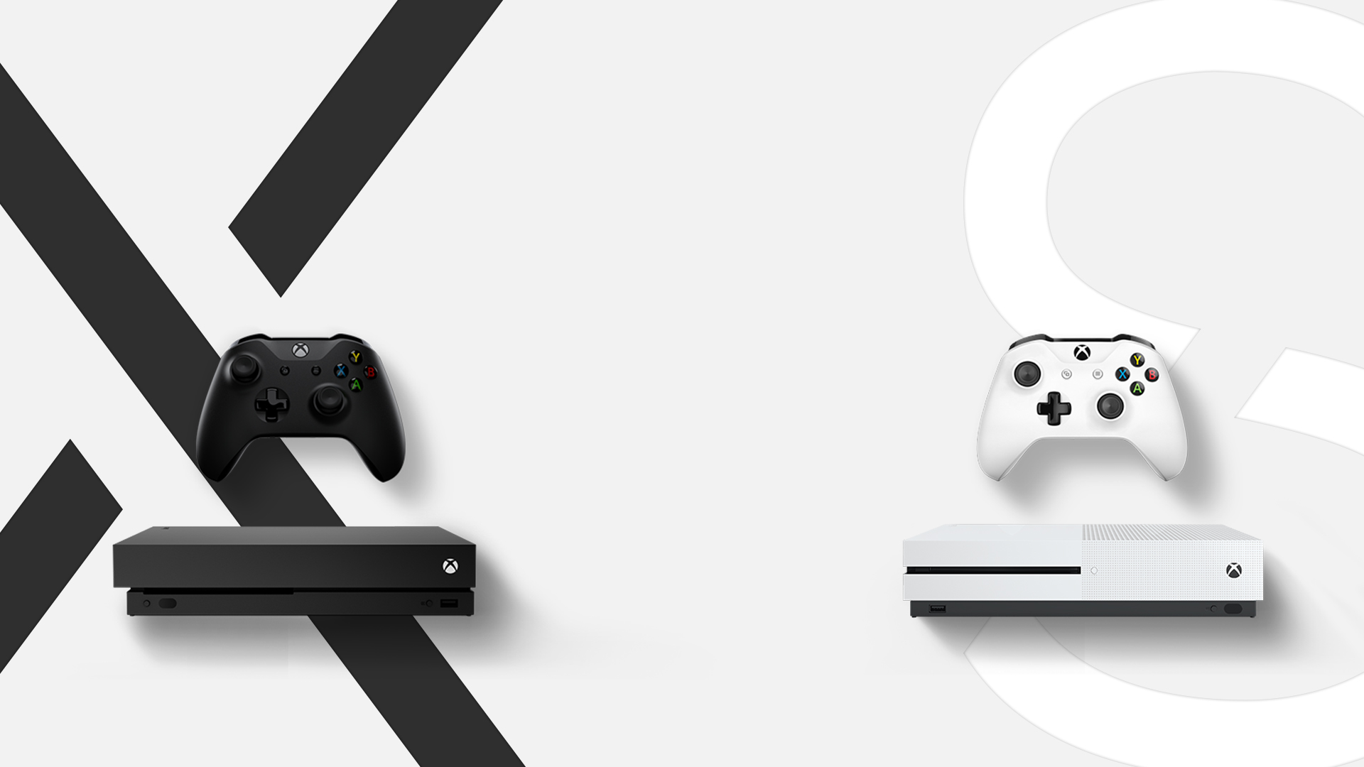 Xbox gaming consoles